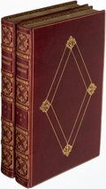 Books:Fine Bindings & Library Sets, [Daniel Defoe]. The Life and Adventures of Robinson Crusoe. London: 1804. First Stockdale edition.... (Total: 2 Items)