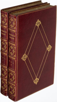 [Daniel Defoe]. The Life and Adventures of Robinson Crusoe. London: 1804. First Stockdale edition.... (Total: 2 Items)