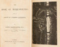 Books:Metaphysical & Occult, Sabine Baring-Gould. The Book of Were-Wolves. London: 1865. First edition.. ...