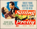 "Movie Posters:Comedy, Sitting Pretty (20th Century Fox, 1948). Rolled, Fine/Very Fine.Half Sheet (22"" X 28""). Comedy.. ..."
