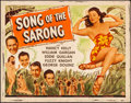 "Movie Posters:Musical, Song of the Sarong & Other Lot (Universal, 1945). Rolled,Fine+. Half Sheets (2) (22"" X 28""). Musical.. ... (Total: 2 Items)"