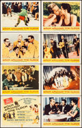 """Movie Posters:Rock and Roll, Rock Around the Clock (Columbia, 1956). Overall: Fine/Very Fine. Lobby Card Set of 8 (11"""" X 14""""). Rock and Roll.. ... (Total: 8 Items)"""