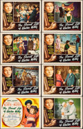 "Movie Posters:Comedy, The Secret Life of Walter Mitty (RKO, 1947). Fine/Very Fine. Lobby Card Set of 8 (11"" X 14""). Comedy.. ... (Total: 8 Items)"