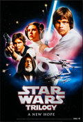 """Movie Posters:Science Fiction, The Star Wars Trilogy (20th Century Fox, 2004/2006). Rolled, VeryFine+. DVD One Sheets (4) (27"""" X 40"""") SS Regular 2 Styles,...(Total: 4 Items)"""