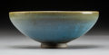 Ceramics & Porcelain:Chinese, A Chinese Jun Ware Bowl, Yuan Dynasty. 3 x 7-3/8 inches (7.6 x 18.7 cm). PROPERTY FROM A PRIVATE NEW JERSEY COLLECTION. ...