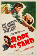 """Movie Posters:Adventure, Rope of Sand (Paramount, 1949). Folded, Very Fine-. One Sheet (27""""X 41""""). Adventure.. ..."""