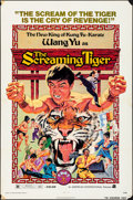 """Movie Posters:Action, The Screaming Tiger & Other Lot (American International, 1973).Folded, Fine/Very Fine. One Sheets (2) (27"""" X 41""""). A..."""