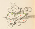 Animation Art:Production Drawing, Mickey's Good Deed Mickey Mouse Animation Drawing (Walt Disney, 1932). . ...