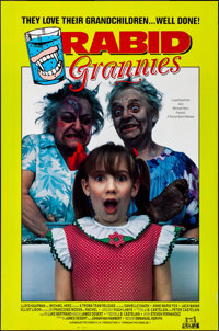 """Rabid Grannies & Other Lot (Troma, 1988). Rolled, Very Fine+. One Sheets (2) (27"""" X 41"""") SS. Horror. ... (..."""