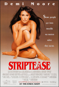 "Striptease & Other Lot (Columbia, 1996). Rolled, Very Fine/Near Mint. One Sheets (2) (27"" X 40"") SS Advanc..."