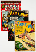 Silver Age (1956-1969):War, Silver to Bronze Age War Short Box (Various Publishers, 1951-74) Condition: Average VG....