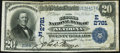 National Bank Notes:Pennsylvania, Altoona, PA - $20 1902 Date Back Fr. 642 The Second National Bank Ch. # (E)2781 Very Fine.. ...