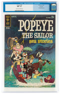 Silver Age (1956-1969):Cartoon Character, Popeye #66 File Copy (Gold Key, 1962) CGC NM+ 9.6 Cream to...