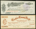 Obsoletes By State:Arizona, Arizona Territory Paper Items 1884-87 Five Examples Very Fine or Better.. ... (Total: 5 items)