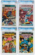 Bronze Age (1970-1979):Superhero, Fantastic Four #191 and 195-197 CGC-Graded Group (Marvel, 1978) CGC NM/MT 9.8.... (Total: 4 )