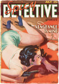Pulps:Detective, Spicy Detective Stories - July 1936 (Culture) Condition: VG....