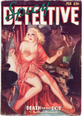 Pulps:Detective, Spicy Detective Stories - February 1936 (Culture) Condition: VG/FN....
