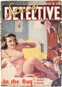 Spicy Detective Stories - March 1940 (Culture) Condition: VG-