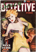 Pulps:Detective, Spicy Detective Stories - February 1937 (Culture) Condition: Apparent VG+....