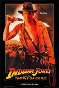 "Movie Posters:Adventure, Indiana Jones and the Temple of Doom (Paramount, 1984). Rolled,Very Fine/Near Mint. One Sheet (27"" X 41"") Advance, ""Trust H..."