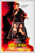 """Movie Posters:James Bond, Licence to Kill (United Artists, 1989). Rolled, Overall: Very Fine-. One Sheet (27"""" X 41"""") & Trimmed One Sheet (27"""" X 40"""") S... (Total: 2 Items)"""