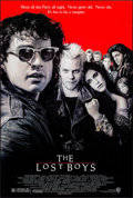 "Movie Posters:Horror, The Lost Boys (Warner Brothers, 1987). Rolled, Very Fine+. OneSheet (27"" X 40.25"") SS. John Alvin Artwork. Horror."