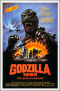 """Movie Posters:Science Fiction, Godzilla 1985 (New World, 1985). Rolled, Very Fine+. One Sheet (27""""X 41"""") SS. Science Fiction.. ..."""