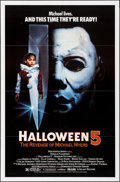 Movie Posters:Horror, Halloween 5: The Revenge of Michael Myers & Other Lot (Galaxy International, 1989). Folded & Rolled, Very Fine+. One Sheets ... (Total: 2 Items)