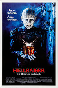 "Hellraiser (New World, 1987). Rolled, Near Mint. One Sheet (27"" X 41"") SS. Horror"