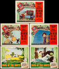 """Movie Posters:Animation, Song of the South & Other Lot (RKO, 1946). Very Fine-. Lobby Cards (5) (11"""" X 14""""). Animation.. ... (Total: 5 Items)"""