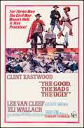 """Movie Posters:Western, The Good, the Bad and the Ugly (United Artists, 1968). Fine onLinen. One Sheet (27"""" X 41""""). David Blossom Artwork. Western...."""