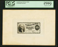 25¢ Fourth Issue Face Essay Plate Proof PCGS Superb Gem New 67PPQ