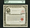 Serial Number 9 $100,000 United States Treasury Bond Due August 15, 1963 PCGS Choice About New 58