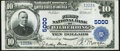 National Bank Notes:Pennsylvania, Wilmerding, PA - $10 1902 Plain Back Fr. 631 First National Bank Ch. # 5000 Extremely Fine.. ...