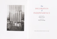 [Limited Editions Club]. The Declaration of Independence. Photograph by Robert Frank. Afterw