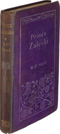 Books:Mystery & Detective Fiction, M. P. Shiel. Prince Zaleski. London: John Lane, 1895. First edition. Signed with inscription by the author....