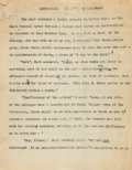 "Books:Mystery & Detective Fiction, M. P. Shiel. ""The Lend-Lease"" Typed and Holograph Manuscript, Later Published as ""The Return of Prince Zaleski."" [Sussex?: c..."
