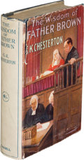 Books:Mystery & Detective Fiction, G. K. Chesterton. The Wisdom of Father Brown. London: Cassell and Company, Ltd, 1914. First edition. ...