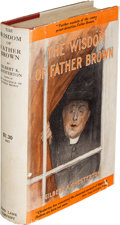 Books:Mystery & Detective Fiction, G. K. Chesterton [as Gilbert K. Chesterton]. The Wisdom of Father Brown. New York: John Lane Company, 1915. First U....