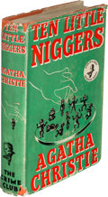Books:Mystery & Detective Fiction, Agatha Christie. Ten Little Niggers. London: The Crime Club by Collins, 1939. First edition. ...