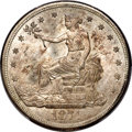 Trade Dollars, 1874-S T$1 MS64 PCGS. CAC. Breen-5785....