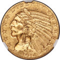 Indian Half Eagles, 1914-S $5 MS62 NGC....