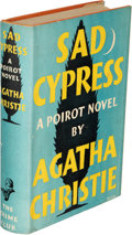 Books:Mystery & Detective Fiction, Agatha Christie. Sad Cypress. London: The Crime Club by Collins, 1940. First edition. Presentation copy, inscribed...