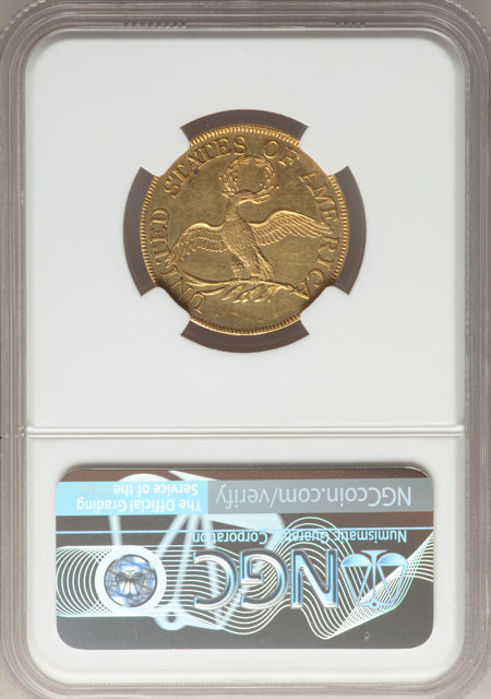 1795 $5 Small Eagle, MS NGC Plus 61 NGC