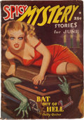 Pulps:Horror, Spicy Mystery Stories - June 1939 (Culture) Condition: VG-....