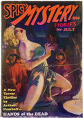 Pulps:Horror, Spicy Mystery Stories - July 1935 (Culture) Condition: GD/VG....