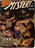 Pulps:Horror, Spicy Mystery Stories - March 1942 (Culture) Condition: GD/VG....