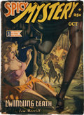 Pulps:Horror, Spicy Mystery Stories - October 1942 (Culture) Condition: Average VG-....