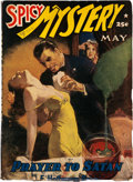 Pulps:Horror, Spicy Mystery Stories - May 1942 (Culture) Condition: VG/FN....