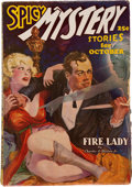 Pulps:Hero, Spicy Mystery Stories - October 1936 (Culture) Condition: VG/FN....